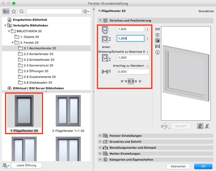 archicad 20 aut startkurs 08 graphisoft online training center. Black Bedroom Furniture Sets. Home Design Ideas